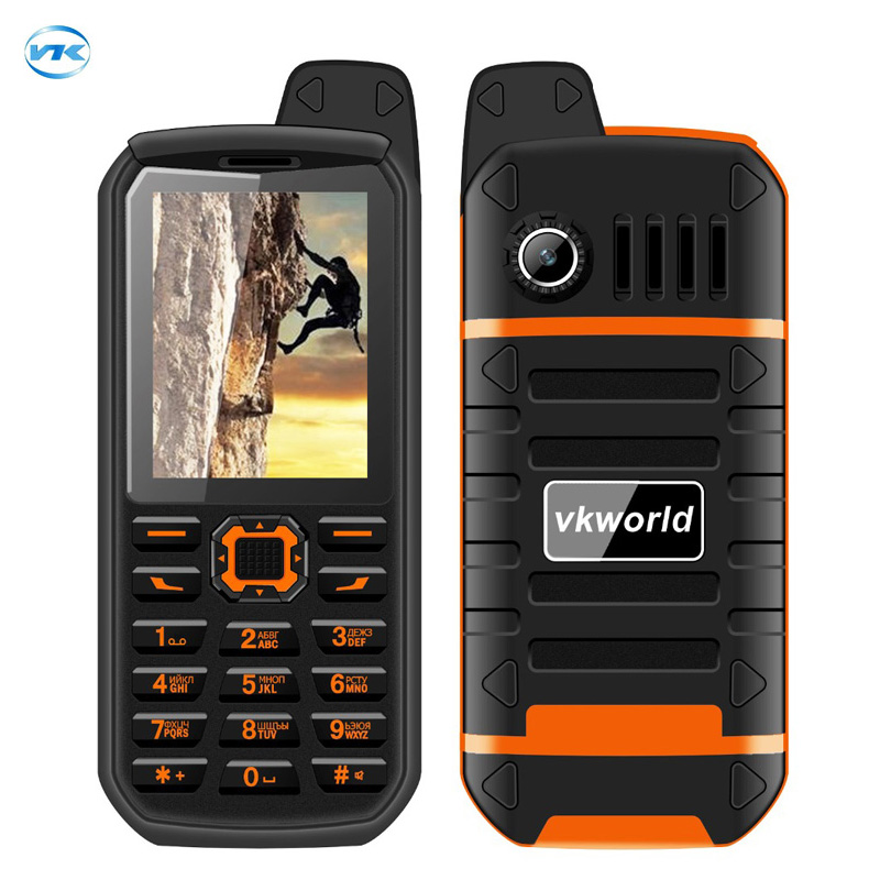Vkworld Stone V3 Plus IP54 water proof dust proof 4000mAh big battery FM radio power bank