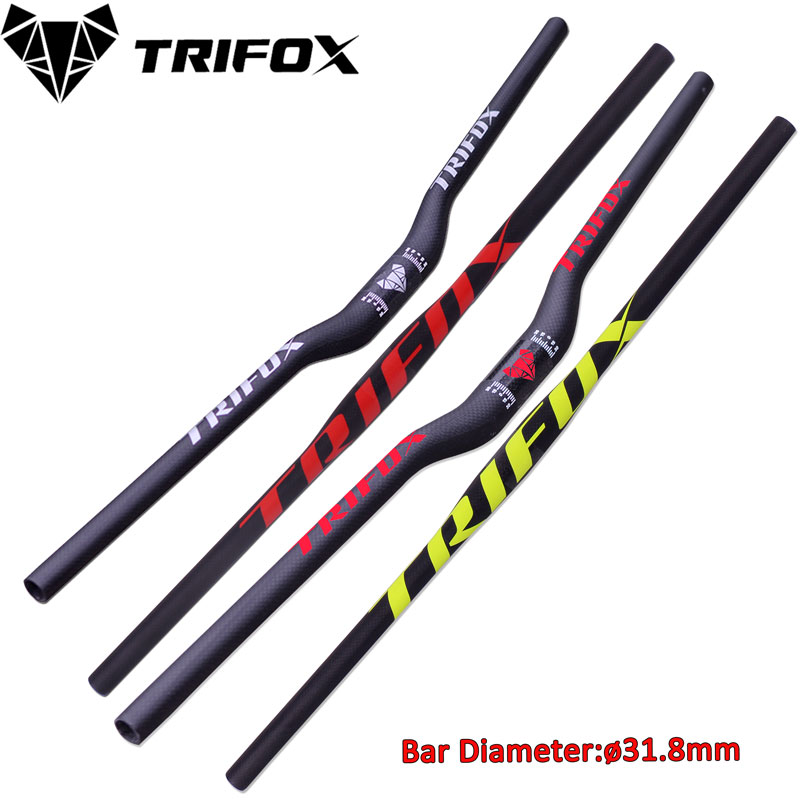 <font><b>Carbon</b></font> <font><b>MTB</b></font> <font><b>Handlebar</b></font> Flat Or <font><b>Rise</b></font> <font><b>Handlebar</b></font> bicycle handlebar31.8*580/600/620/640/660/680/700/720mm 3K <font><b>carbon</b></font> <font><b>handlebar</b></font> image