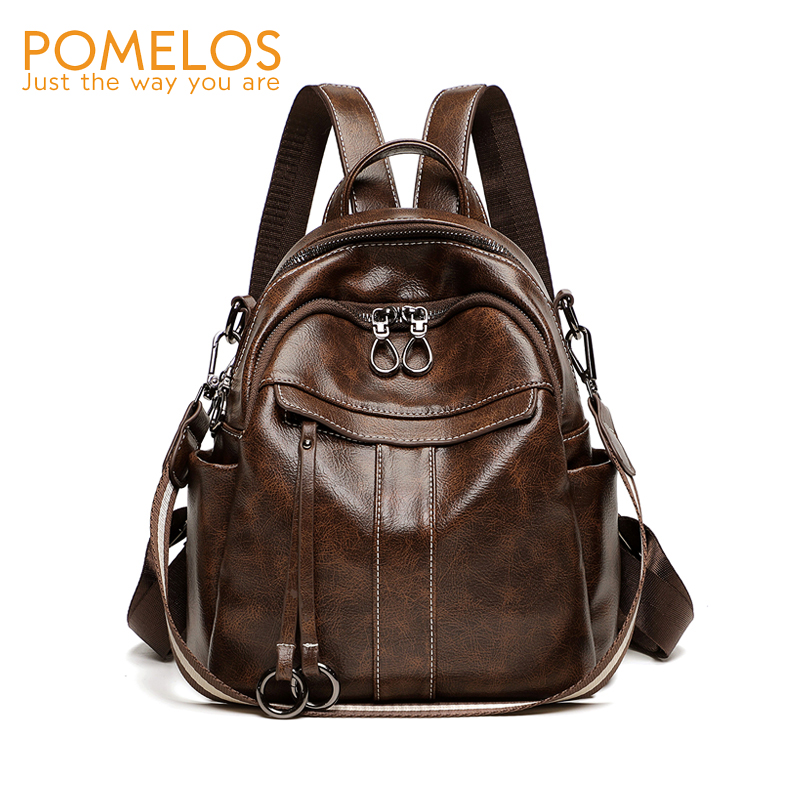 POMELOS Backpack Women New Arrivals Designer High Quality PU Leather Women Backpack Travel Rucksack Bagpack Backbag For WomenPOMELOS Backpack Women New Arrivals Designer High Quality PU Leather Women Backpack Travel Rucksack Bagpack Backbag For Women