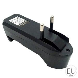 Image 3 - 18650 3.7v chargeur de batterie au Lithium polymère chargeur de batterie Portable simple Charge fente unique