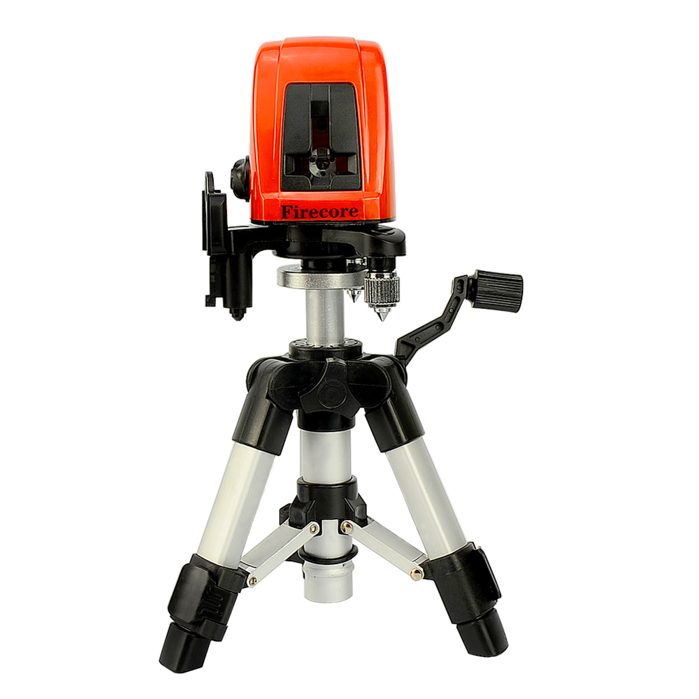 Firecore A8826D 2 Lines Laser Level 1V1H1D Cross Self-leveling Red Beam Laser +0.28M Tripod trait d union level 2 cahier de lecture ecriture french edition