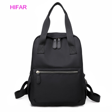 2019 Korean Style Canvas Backpack For Women Simple Fashion Youth Travel Leisure School Bag Tote Teen Girl Shoulder
