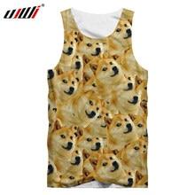 186a094751618 UJWI Meme Tank Top Men 3d Full Print Animal Dog Sleeveless Shirts Male Hip  Hop Streetwear Casual Round Neck Undershirt Harajuku