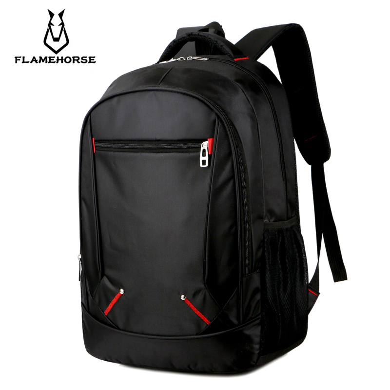 "Men's Casual Oxford 15.6"" Laptop Backpack Multi-functional Waterproof Large Capacity Youth Business Casual Travel Bag"