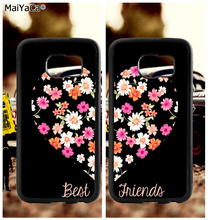 BFF heart best friends soft TPU edge cell phone cases for samsung s6 edge plus s7 edge s8 plus s9 s10 plus lite e note 8 9 case bff heart best friends soft tpu edge cell phone cases for samsung s6 edge plus s7 edge s8 plus s9 s10 plus lite e note 8 9 case