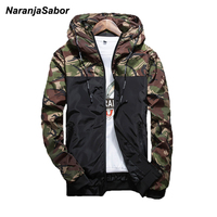 NaranjaSabor 2017 New Spring Men S Camouflage Coat Mens Hoodies Casual Jacket Brand Clothing Mens Windbreaker