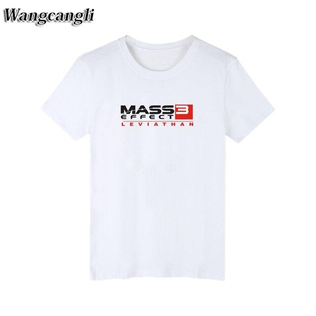 2017 N7 Maglietta Famosa 3 Effect Uomini Degli Nero Di Mass Marca IyvYb76gfm