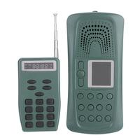 PDDHKK Portable CP 387 Bird Lure Sound MP3 Player 20W 126dB 110 Sounds Bird Caller With Remote Control Up TO 100m Hunting decoy