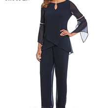 Mother of the Bride Dresses for Wedding 2019 Pant Suit Bell