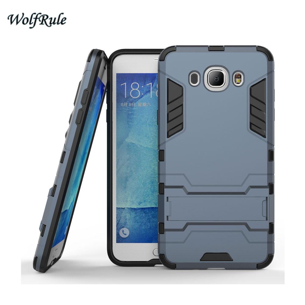 WolfRule sFor Case Samsung Galaxy J7 2016 Cover Soft TPU + Slim PC - Բջջային հեռախոսի պարագաներ և պահեստամասեր - Լուսանկար 3