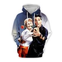 PLstar Cosmos Elvis Presley/Audrey Hepburn 3D Print Hoodie/Sweatshirt/Jacket/shirts Men Women Tees hip hop apparel