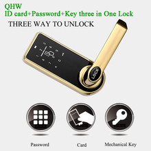 Smart Home Door lock RFID Lock Mechanical Digital Lock Key tag/Card Code Password App Electric Lock Handle Apartment Access lock