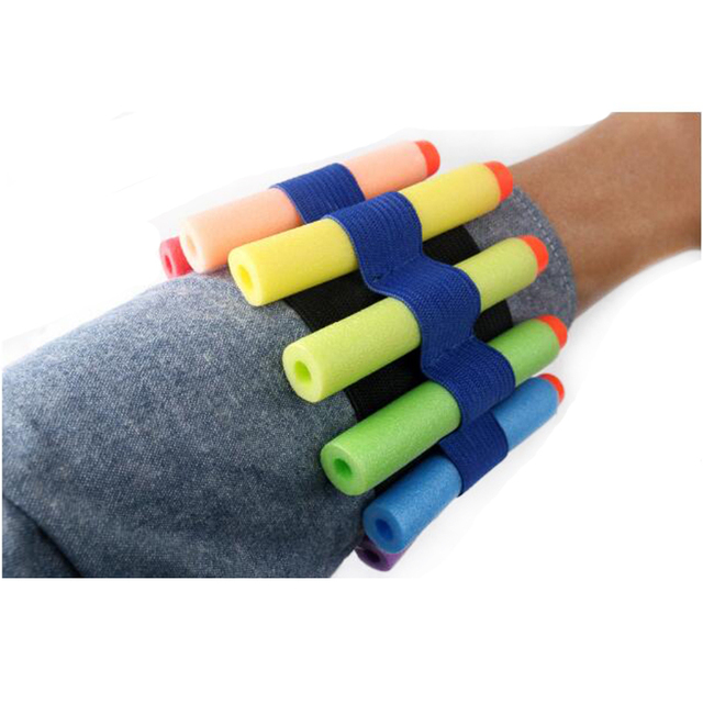Toy Gun Wristband For Nerf Toy Gun Soft Bullet Gun Holder Soft Bullets Band  Professional Player