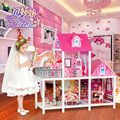 toy doll house Villa large box set the princess dream girl doll toys gift toys girl