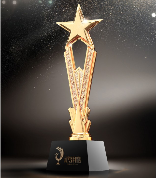 High quality!DIY Star of honor resin trophy free lettering Souvenir trophy,Free shipping цена