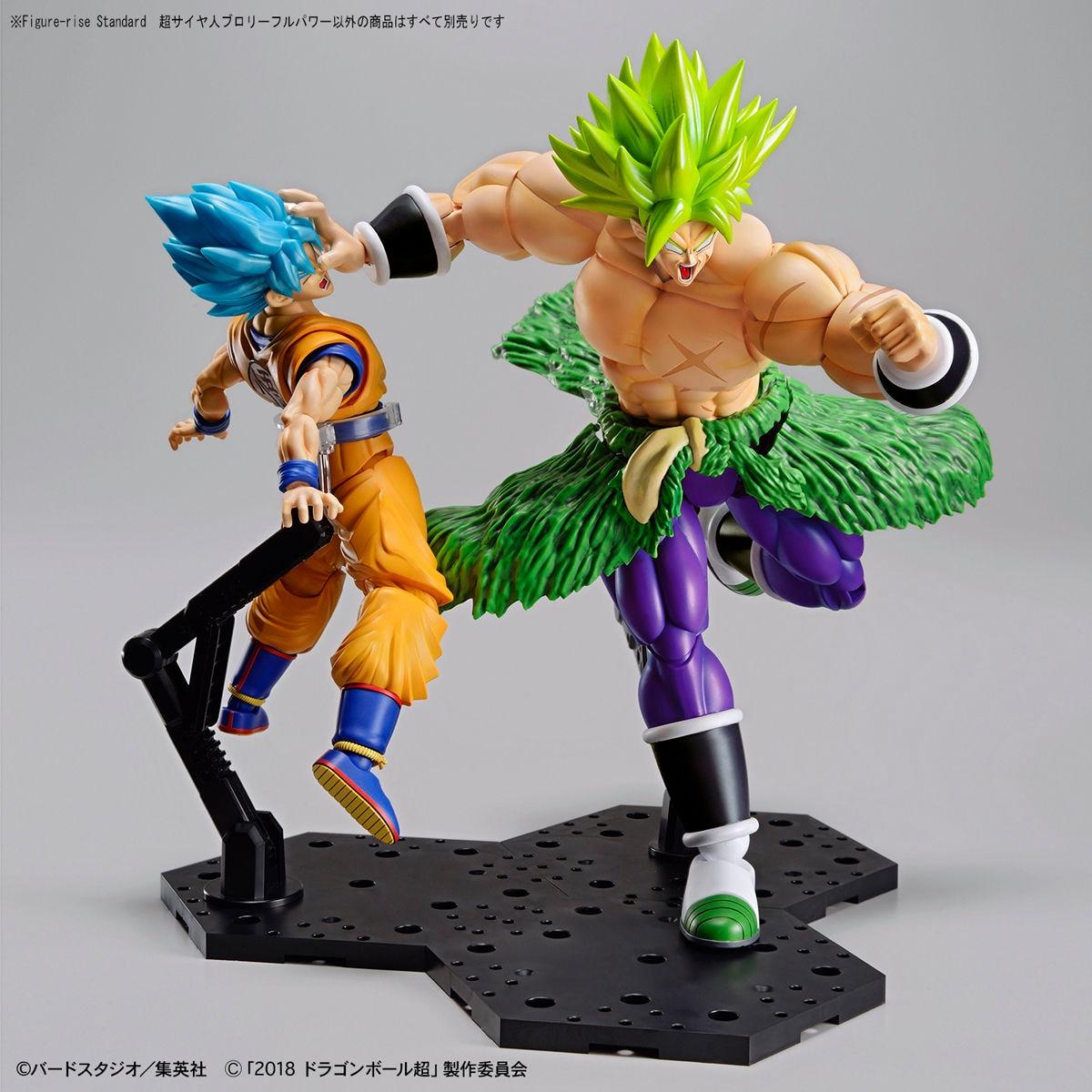 BANDAI Dragon Ball Z Ultra Instinct Broli Goku PVC figurine modèle enfant poupées Figure à collectionner jouet