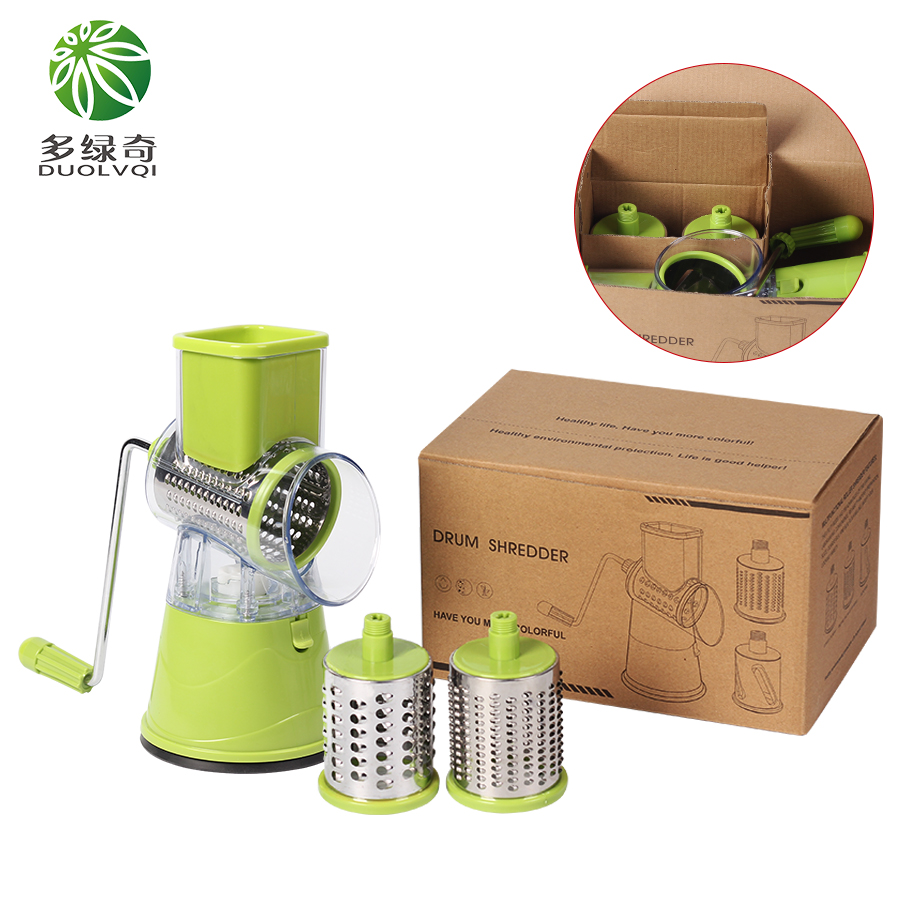 DUOLVQI Multifunctional Mandoline Slicer and Manual Vegetable Cutter as Kitchen Accessories 4