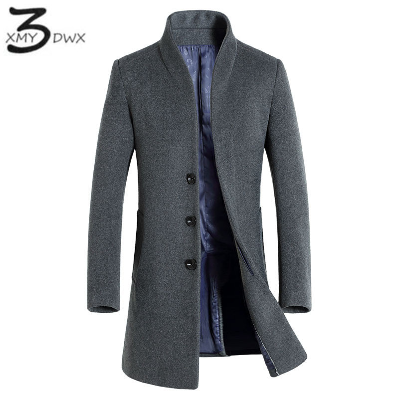 XMY3DWX 2017 new product fashion male premium brand Cashmere coat/Men Winter thickens an ...