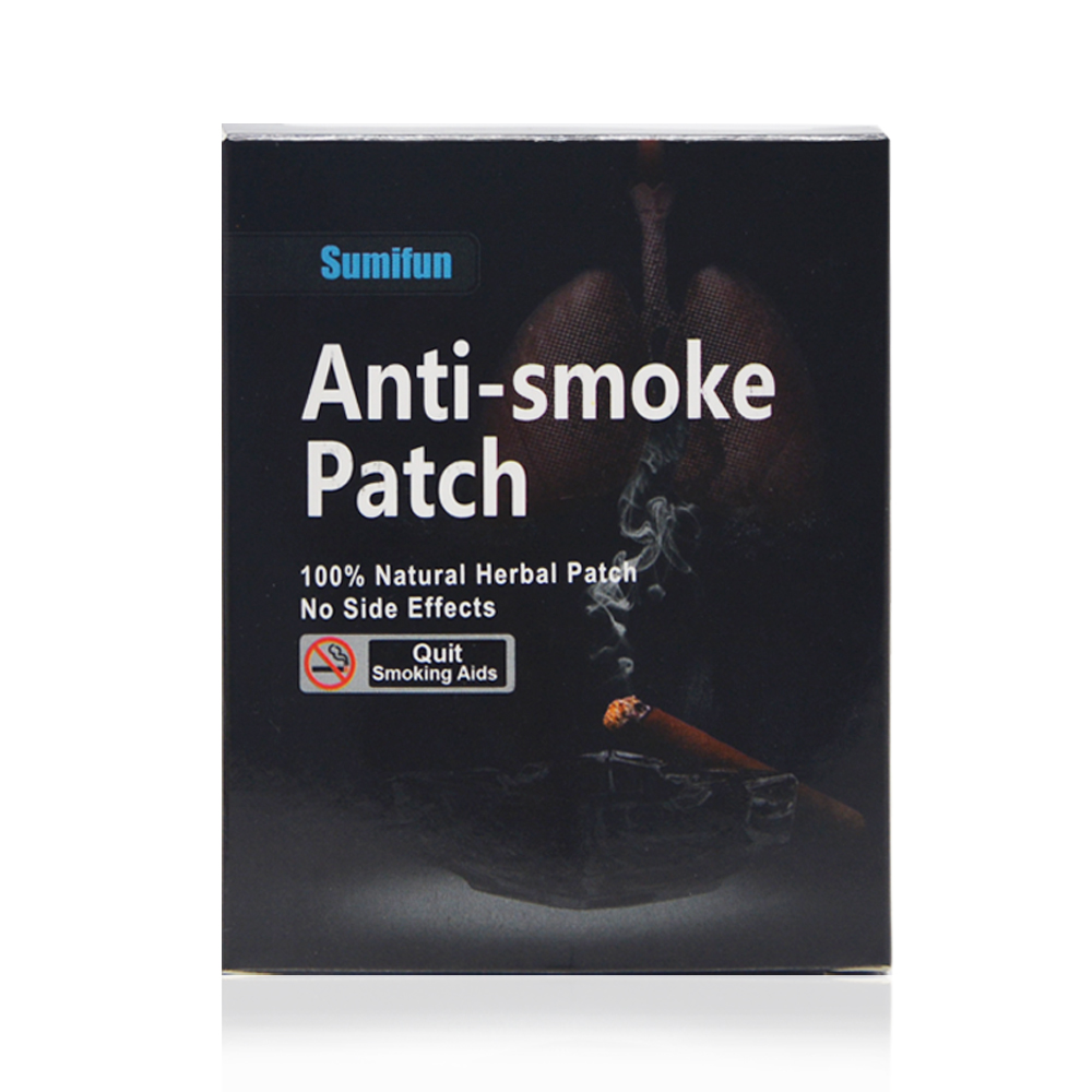 35 Patches 100% Natural Herbal Stop Smoke Patch Health Therapy Sumifun Brand Anti Smoke Patch Smoking Cessation Pad K01201 herbal muscle