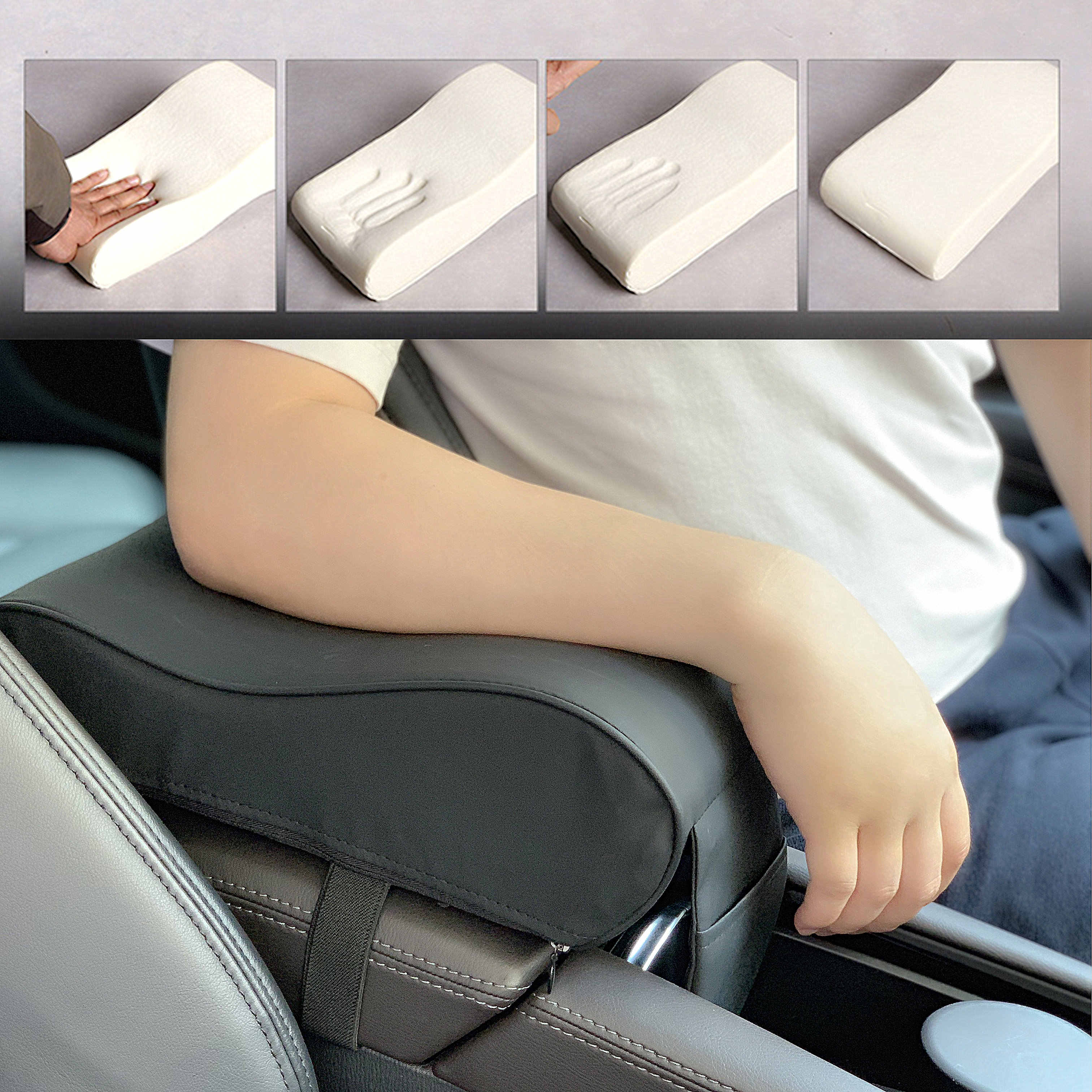 Grey Armrest Centre Console for FORD MONDEO FIESTA ESCORT FOCUS FUSION New