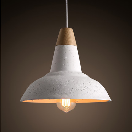 Loft Style Industrial Cement Gypsum Droplight Edison Vintage Pendant Light Fixtures For Dining Room Hanging Lamp Home Lighting iwhd loft style round glass edison pendant light fixtures iron vintage industrial lighting for dining room home hanging lamp