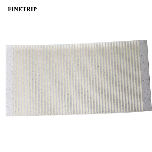 FINETRIP CNPAM  Silver For BMW 5 Series E34 LCD Display Pixel Repair Ribbon Instrument Speedometer Dash Cluster Cable 10pcs