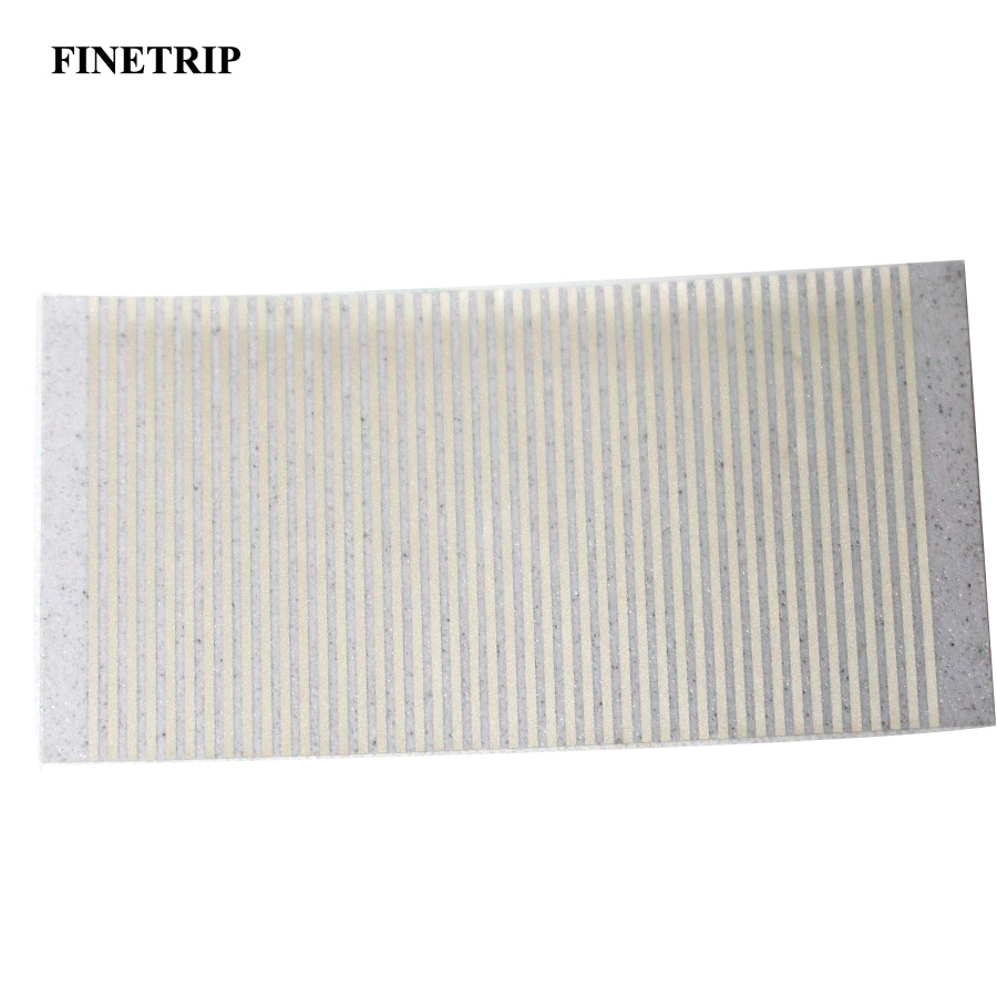 FINETRIP CNPAM Silver For <font><b>BMW</b></font> 5 Series E34 LCD Display Pixel Repair Ribbon Instrument Speedometer Dash Cluster <font><b>Cable</b></font> 10pcs image