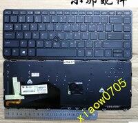 New laptop keyboard for HP EliteBook 840 G1 850 HP840 G2 ZBook 14 US backlit