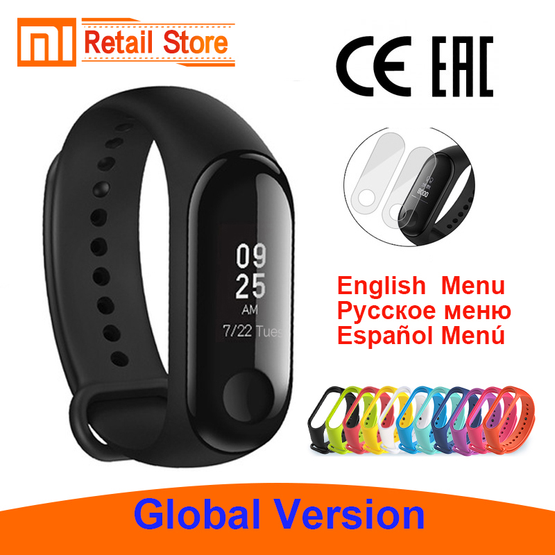 Intelligente Elektronik Globale Version Original Xiao Mi Mi Band 3 Fitness Tracker Smart Armband 0,78 oled Touchscreen 50 Mwaterproof Mi Band 3 Xio Mi Rheuma Und ErkäLtung Lindern