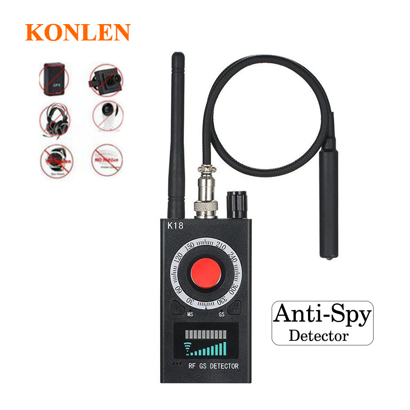 RF finder Anti Spy Mini Camera Detector bug locator Radio Scanner antispy Hidden GSM GPS Signal