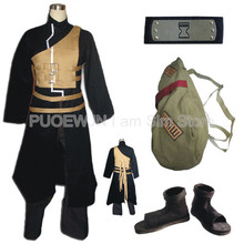 Hot Naruto Sabaku No Gaara cosplay costume full set  Halloween Costume все цены