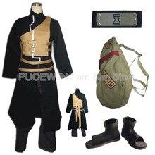 Sıcak Naruto Sabaku Hiçbir Gaara cosplay kostüm tam set Cadılar Bayramı Kostüm