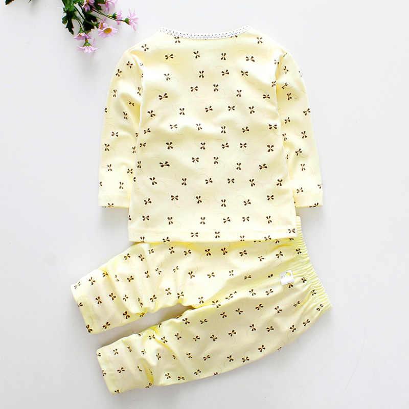 Noworodka dziewczynka ubrania zestaw Dot topy T shirt + zestawy długich spodni dla dzieci odzież dla dzieci bawełna Casual maluch stroje ubrania dla dzieci