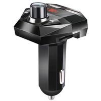 fm משדר Bluetooth גרסה 3.0 Hands לרכב חינם אלחוטי Bluetooth FM משדר מסך LED USB מטען נגן MP3 USB Chargesr # YL6 (1)