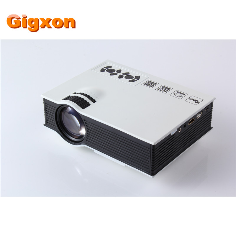 Gigxon G40 LED Projector UC40 3D Mini Pico portable Home Theater beamer multimedia proyector Full HD