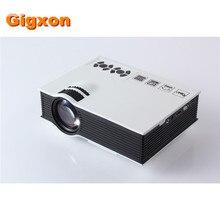 Gigxon-g40 + uc40 + 3d mini pico proyector led portátil de cine en casa proyector multimedia proyector full hd 1080 p de vídeo hdmi
