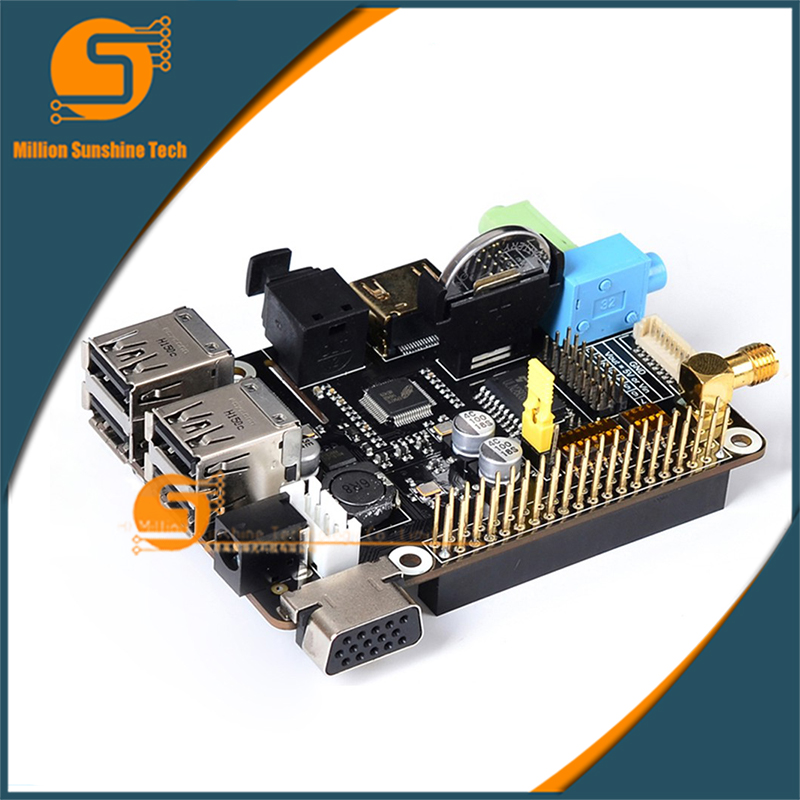 Suptronics X200 Multifunction Expansion Shield Board, 6~20V support VGA/RTC/GPIO/IR/WiFi etc. for Raspberry Pi Model B+ and Pi 2 suptronics x series x200 expansion board special board for raspberry pi model b