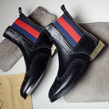 2016 Fall Winter Women's Flats Slip-on Ankle Boots Brand Designer Carving Short Booties Female Footwear Plus Size Shoes Women