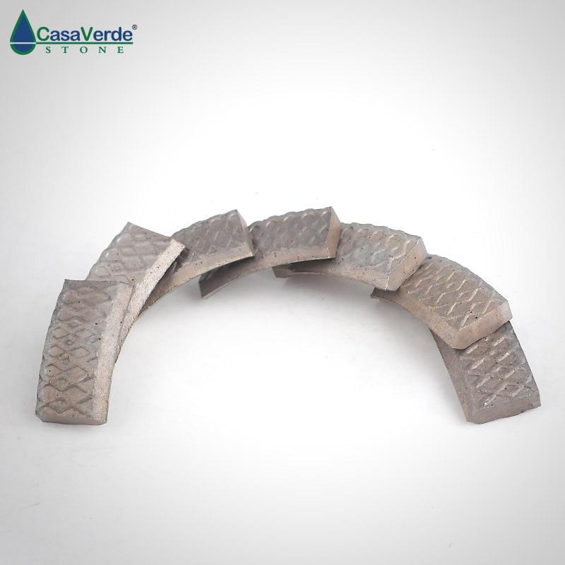 DC XDSCB02 X shape diamond core drill bit segments 24x4x10mm wet drilling for concrete