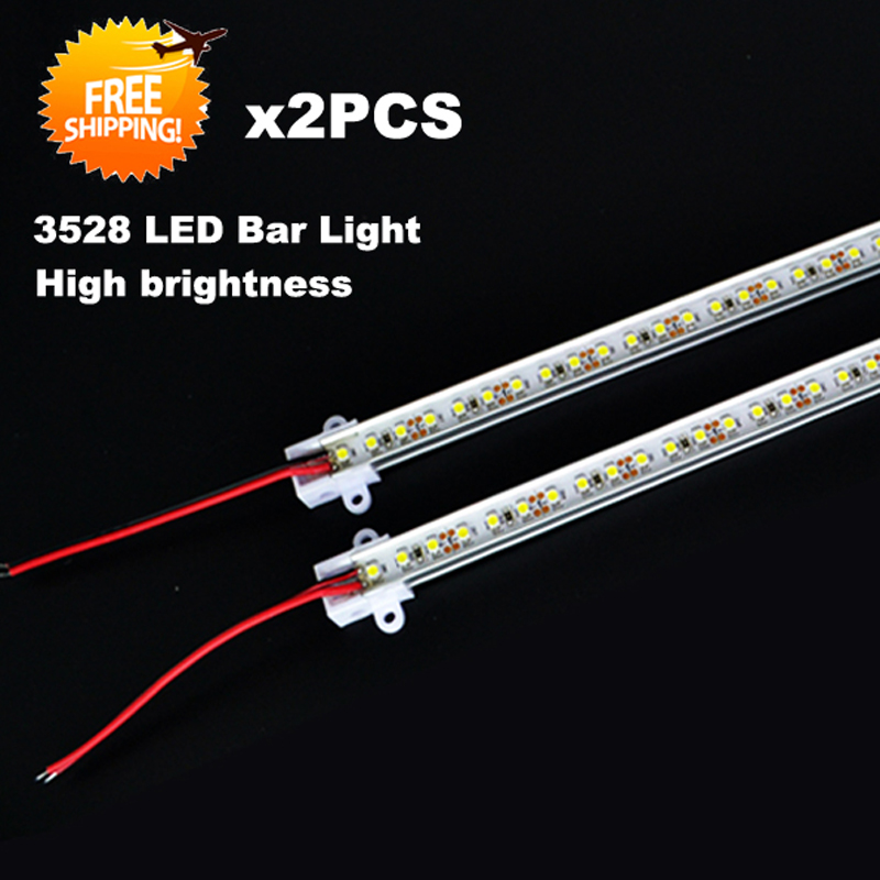 Aliexpress Com Buy 50cm Aluminum Led Smd3014 Chip Under: 2pcs/package 50CM 3528 Rigid Strip LED Bar Light Kitchen