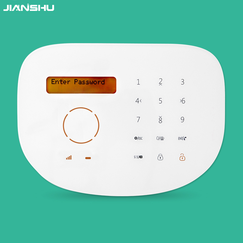 Touch keypad GSM alarm panel support RFID function /mobile APP remote control all other alarm accessories