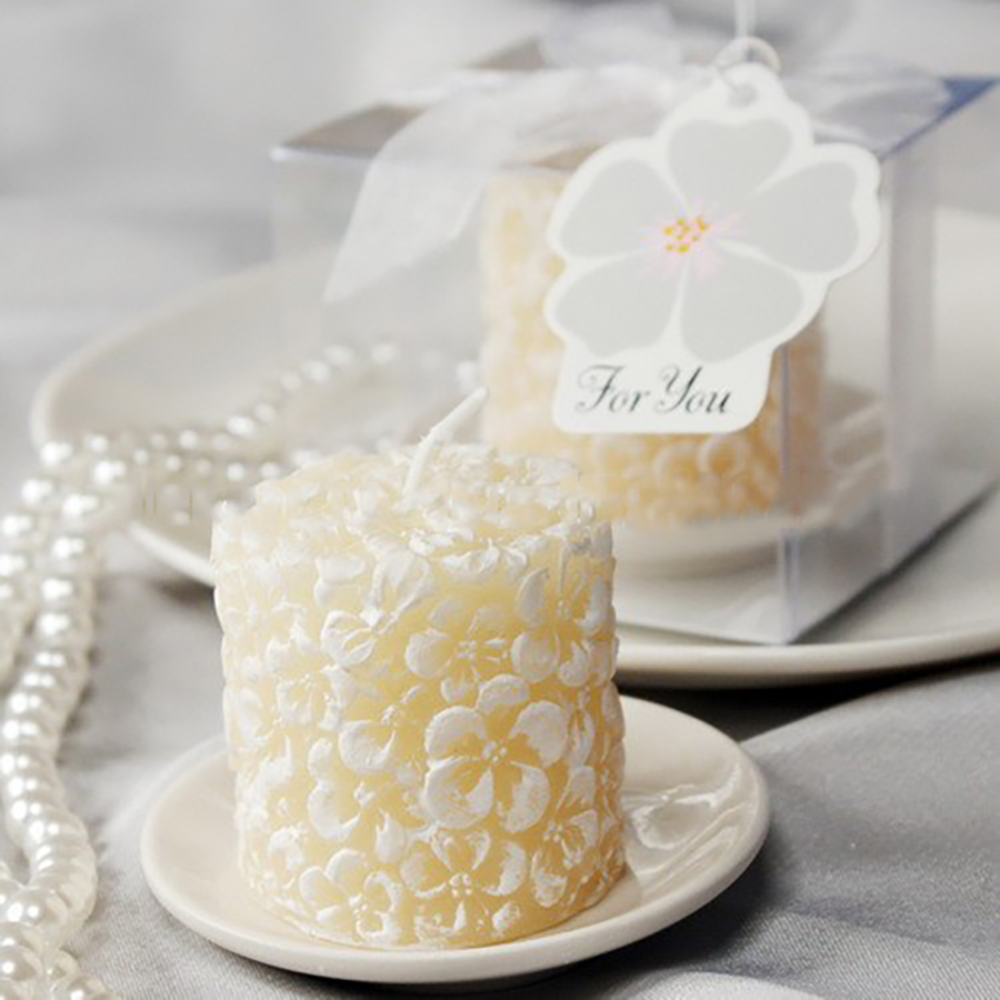 White Wedding Decoration Candles Craft Bougies D Coratives Wax Gift ...