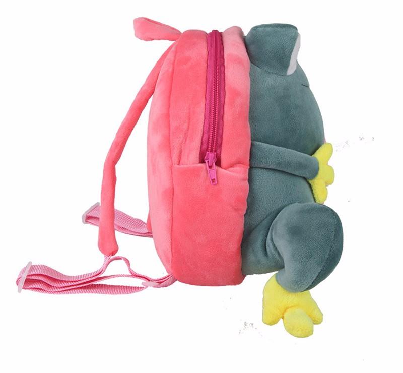 Frog backpack for kids1