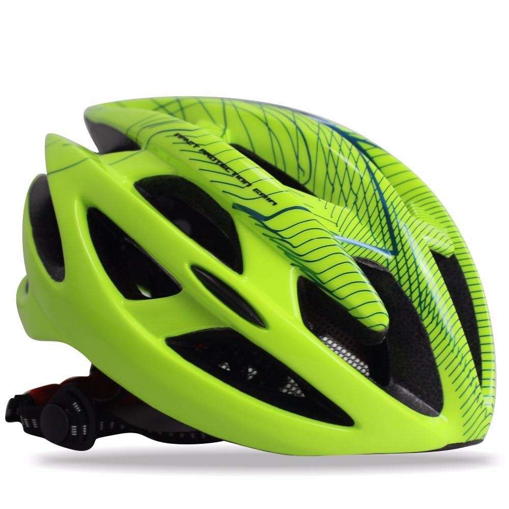 Цена за Чудо велосипед шлем велоспорт дорога/mtb велосипед шлем cascos capacete ciclismo размер m/l зеленый/белый/черный/розовый/orange цвета