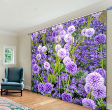 Beautiful Floral Printing 3D Blackout Curtains For Living room Bedding room Home Decor Tapestry Wall Carpet  Drapes Cotinas