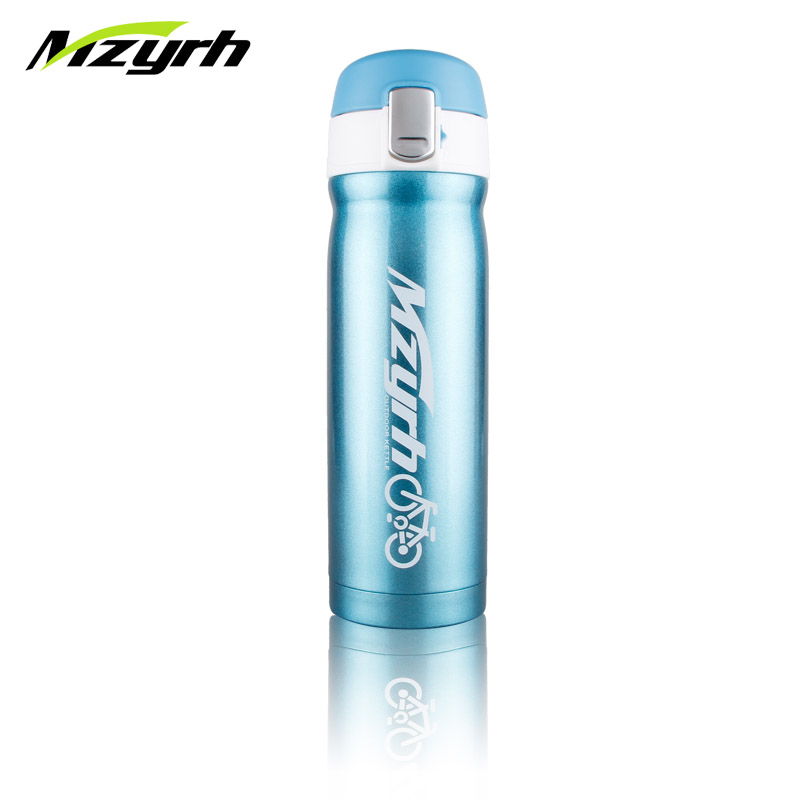 450ml Bicycle Water Bottle Mountain Road Bike Outdoor Cycling Drink Bottles Ultralight Sports Bicycle Stainless Steel Bottle in Bicycle Water Bottle from Sports Entertainment