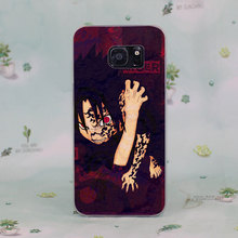 Naruto Sasuke Sharingan Eyes Phone Case for Samsung Galaxy S7 S8 Plus S6 S7 Edge S5 S4 Mini