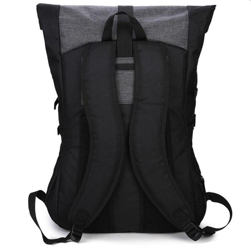 Zebella черный мужской рюкзак большой емкости мужские дорожные рюкзаки спортивная баскетбольная сумка дышащий рюкзак Mochila школьная сумка-2