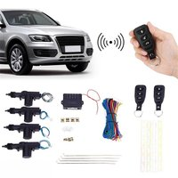 Universal Door Lock Vehicle Remote Central Lock Keyless Entry System Power Window Switch Auto Car Remote Central Kit