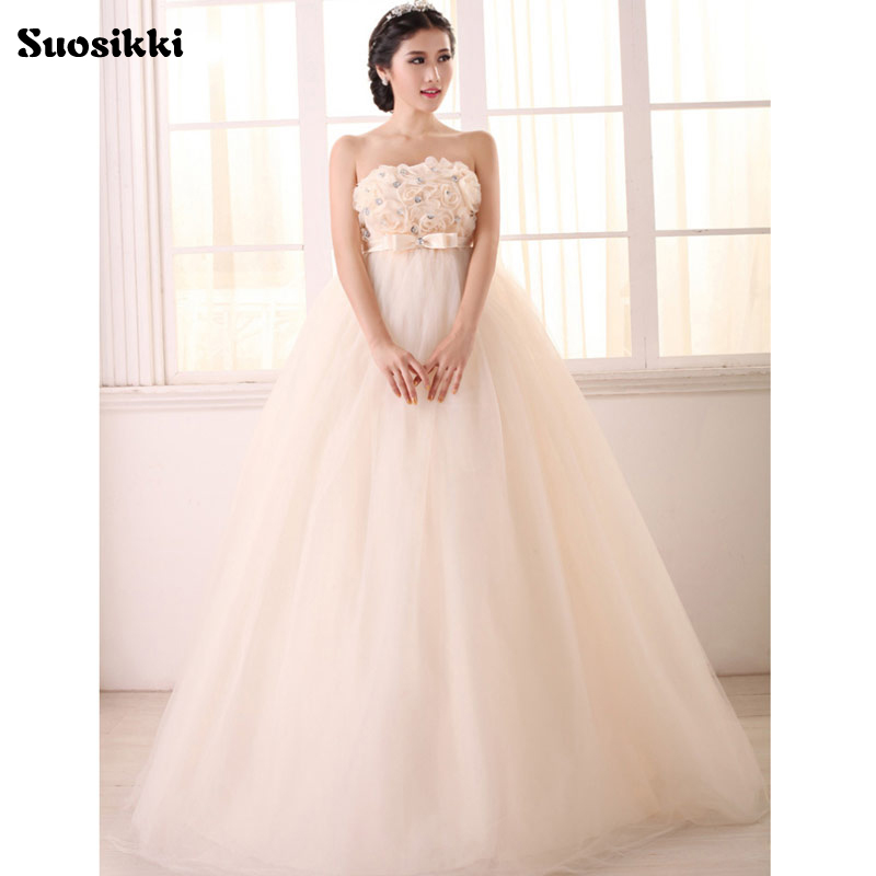 Wedding Gown For Pregnant Bride: Aliexpress.com : Buy Vintage Wedding 2017 New Fashionable